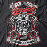 """Associate"" T-Shirt (Front Print) - Blown Biker  - 1"