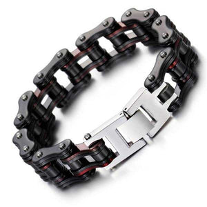 "316L Stainless Steel ""Steeled"" Bracelet - Blown Biker - 3"