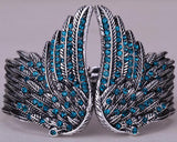 "Silver Plated ""Angel Wings"" Feather Bracelet"