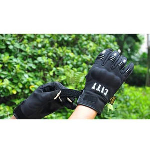 Clothing - Touchscreen Biker Gloves (pair)