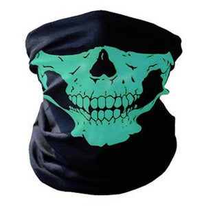 """Skull Rider"" Motorcycle Half-Face Mask - Blown Biker - 5"