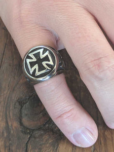 Brad's Iron Cross Ring