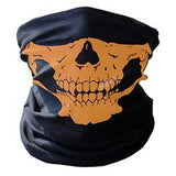 """Skull Rider"" Motorcycle Half-Face Mask - Blown Biker - 10"