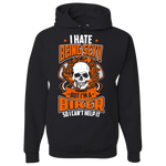 I Hate Being Sexy Hoody (Front Print) - Blown Biker - 2