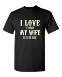 I Love My Wife T-Shirt - Blown Biker - 2