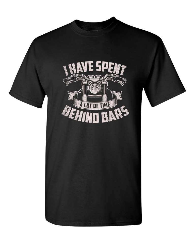 Behind Bars T-Shirt (Front Print) - Blown Biker - 2