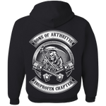 Sons Of Arthritis Hoody (Back Print) - Blown Biker - 2