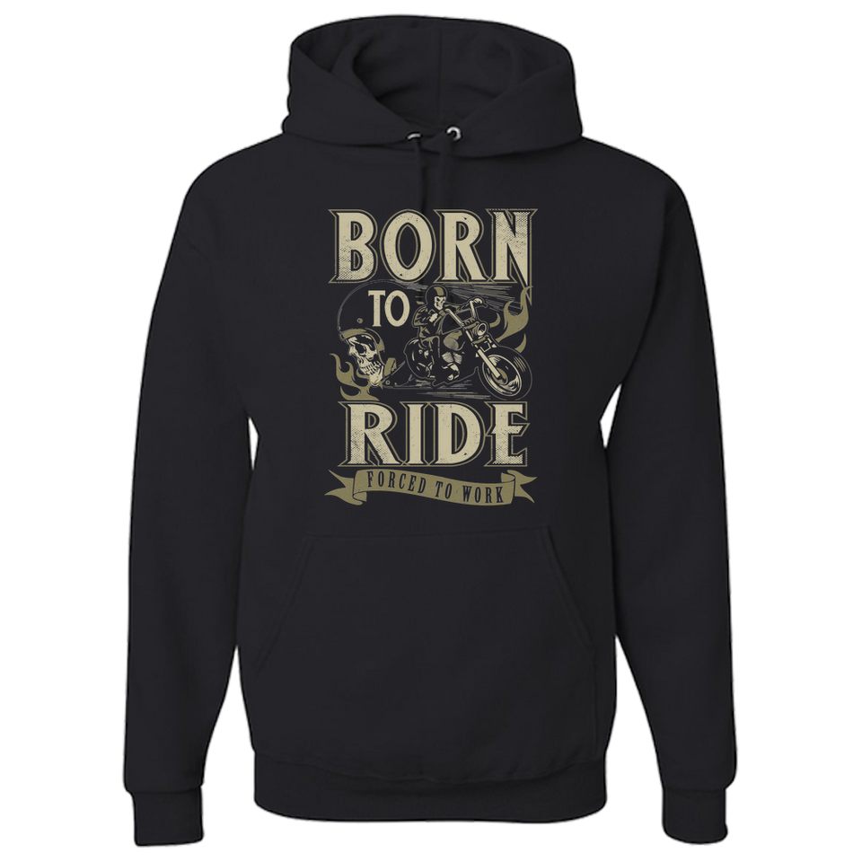 Born To Ride Hoody - Blown Biker - 2