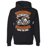 Four Wheels Hoody (Front Print) - Blown Biker - 2
