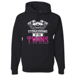 Stop Staring At The Twins Hoody - Blown Biker - 2