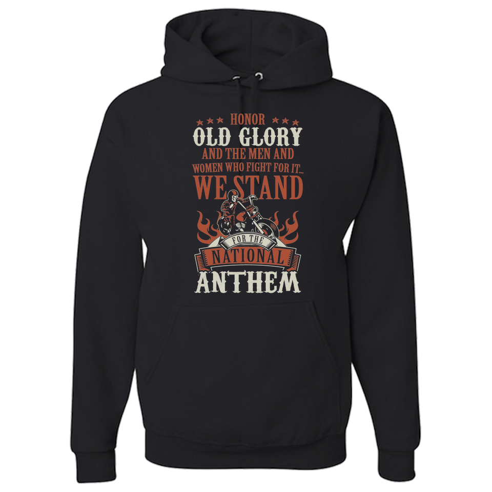 Old Glory Hoody - Blown Biker - 2