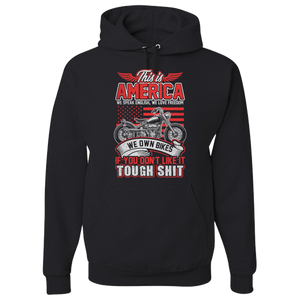 This Is America Hoody (Front Print) - Blown Biker - 2
