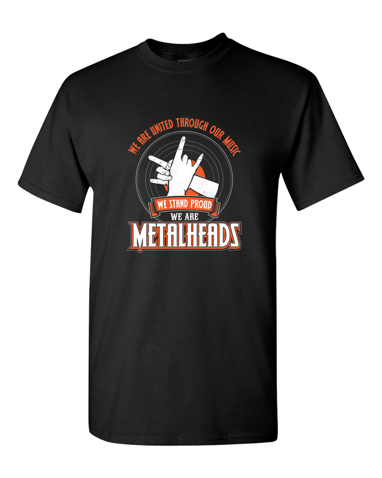 We Are Metalheads T-Shirt - Blown Biker - 2
