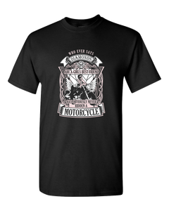 Whoever Says Diamonds T-Shirt - Blown Biker - 2