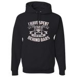 Behind Bars Hoody (Front Print) - Blown Biker - 2