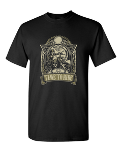 It's Time To Ride T-Shirt - Blown Biker - 2