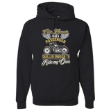 """Cute Enough"" Hoody (FRONT PRINT) - Blown Biker - 2"