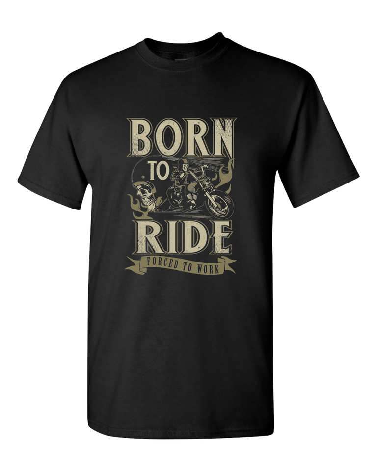 Born To Ride T-Shirt - Blown Biker - 2