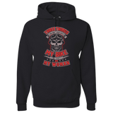 Three Things Hoody (Front Print) - Blown Biker - 2