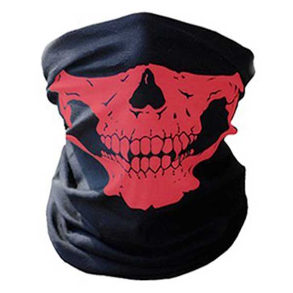 """Skull Rider"" Motorcycle Half-Face Mask - Blown Biker - 4"