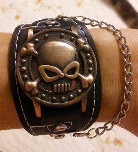 Kimberly's Skull Biker Watch