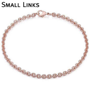 "Rose Gold Filled ""Rolo"" Ladies Bracelet - Blown Biker - 1"