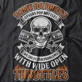 Some Do Drugs Hoody (Front Print) - Blown Biker - 1