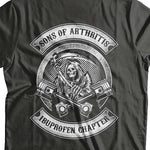 Sons Of Arthritis Hoody (Back Print) - Blown Biker - 1