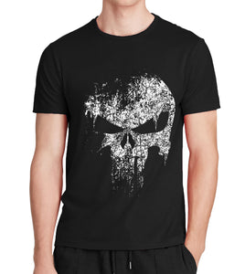 "Printed ""Punisher"" T-Shirt"