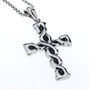 "316L Stainless Steel ""Biker Charms"" Pendant Necklace"