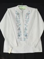 Light Green Embroidered Kurta