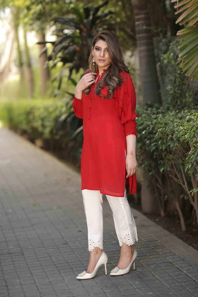 Butterfly Sleeves Tunic