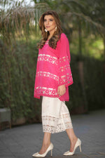 Floral Spring Border Tunic