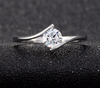 Single Women's Wedding Engagement Ring - Todaysdeal - 4