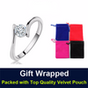 Single Women's Wedding Engagement Ring - Todaysdeal - 6