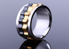 Gear Ring 316 Stainless Steel Titanium Ring - Todaysdeal - 2