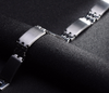 Silver Stainless Steel Bracelet Bangle Male Accessory - Todaysdeal - 4
