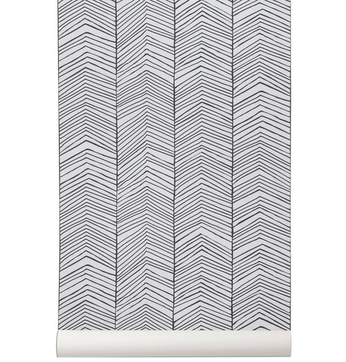 Ferm Living Herringbone Wallpaper - HUH. Store