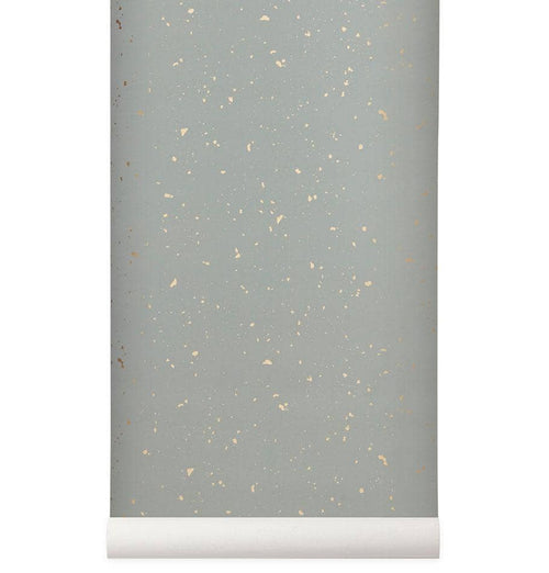 Ferm Living Confetti Wallpaper - Grey - HUH. Store