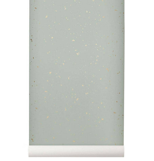 Ferm Living Confetti Wallpaper - Mint