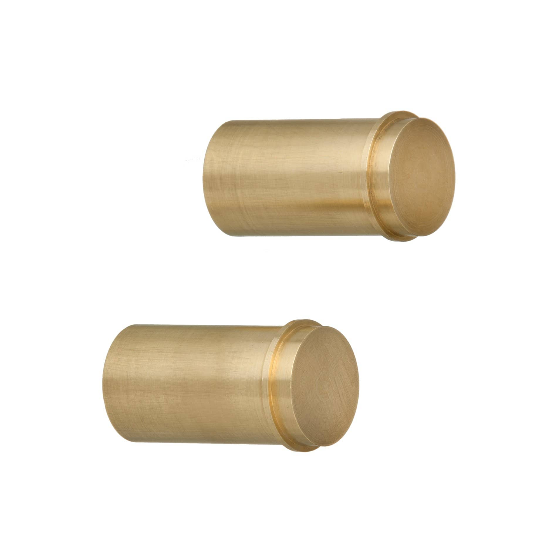 Ferm Living Set of 2 Brass Hooks