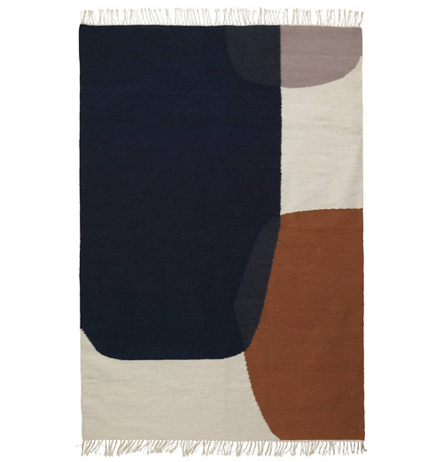 Ferm Living Kelim Rug - Merge - Large