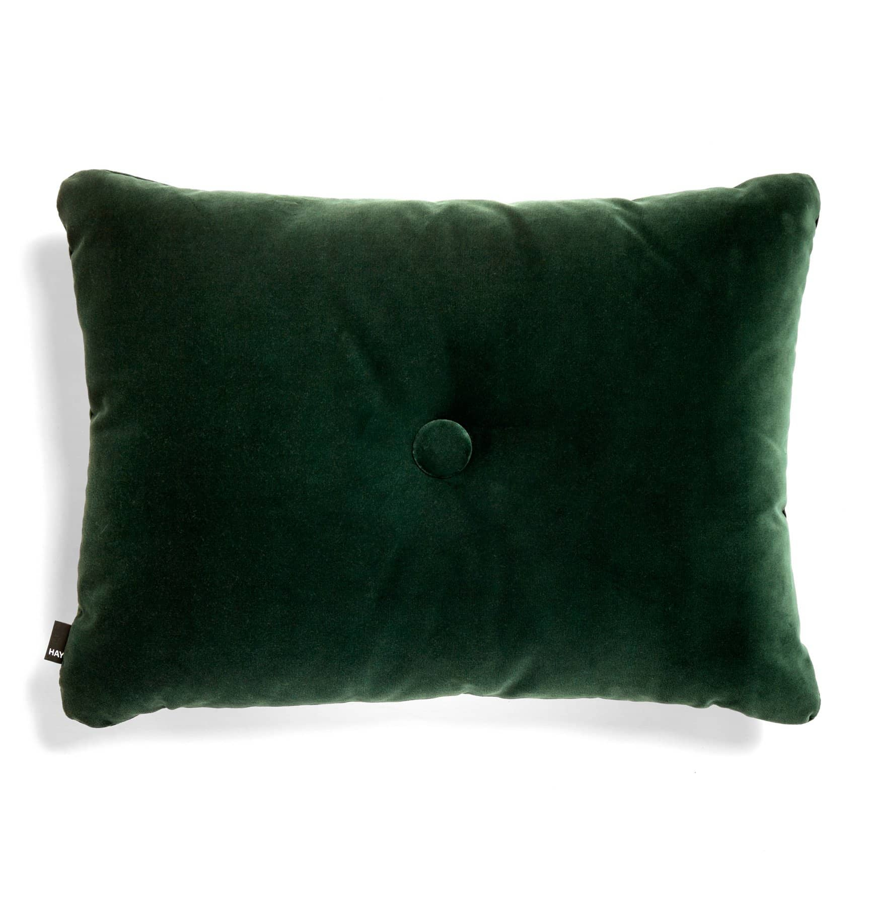 HAY Dot Cushion – Soft – Dark Green