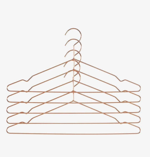 HAY Hang Clothing Hangers - Copper - Set of 5 - HUH. Store