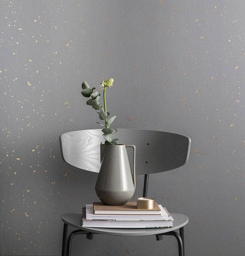Ferm Living Confetti Wallpaper - Grey