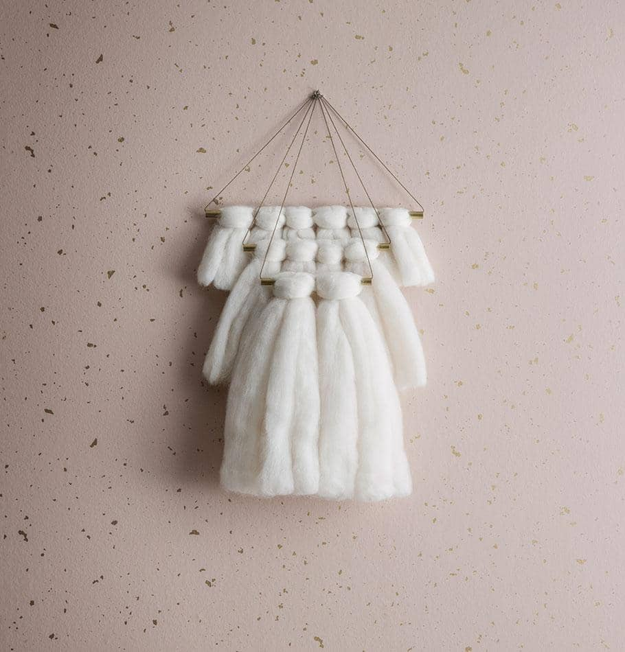 Ferm Living Confetti Wallpaper - Rose