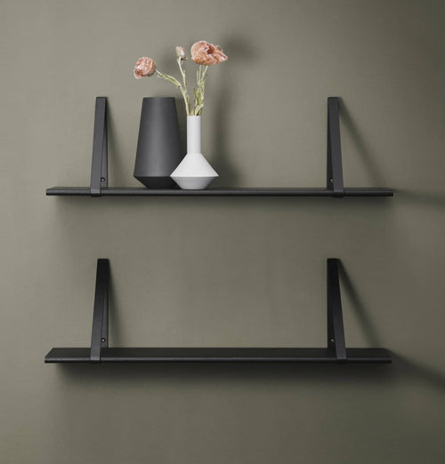Ferm Living Shelf - Black Stained Oak