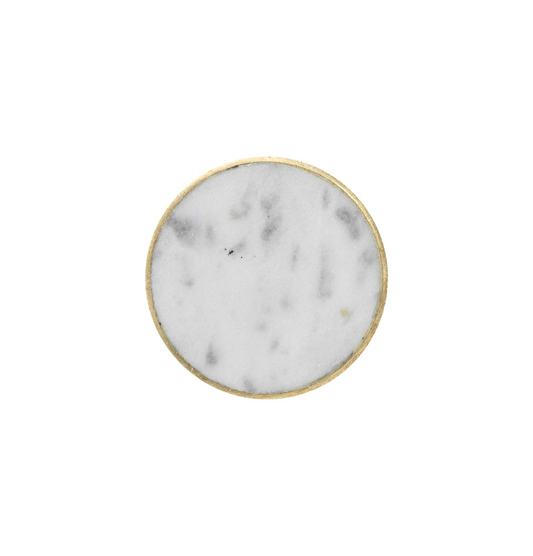 Ferm Living White Marble Hook - Large