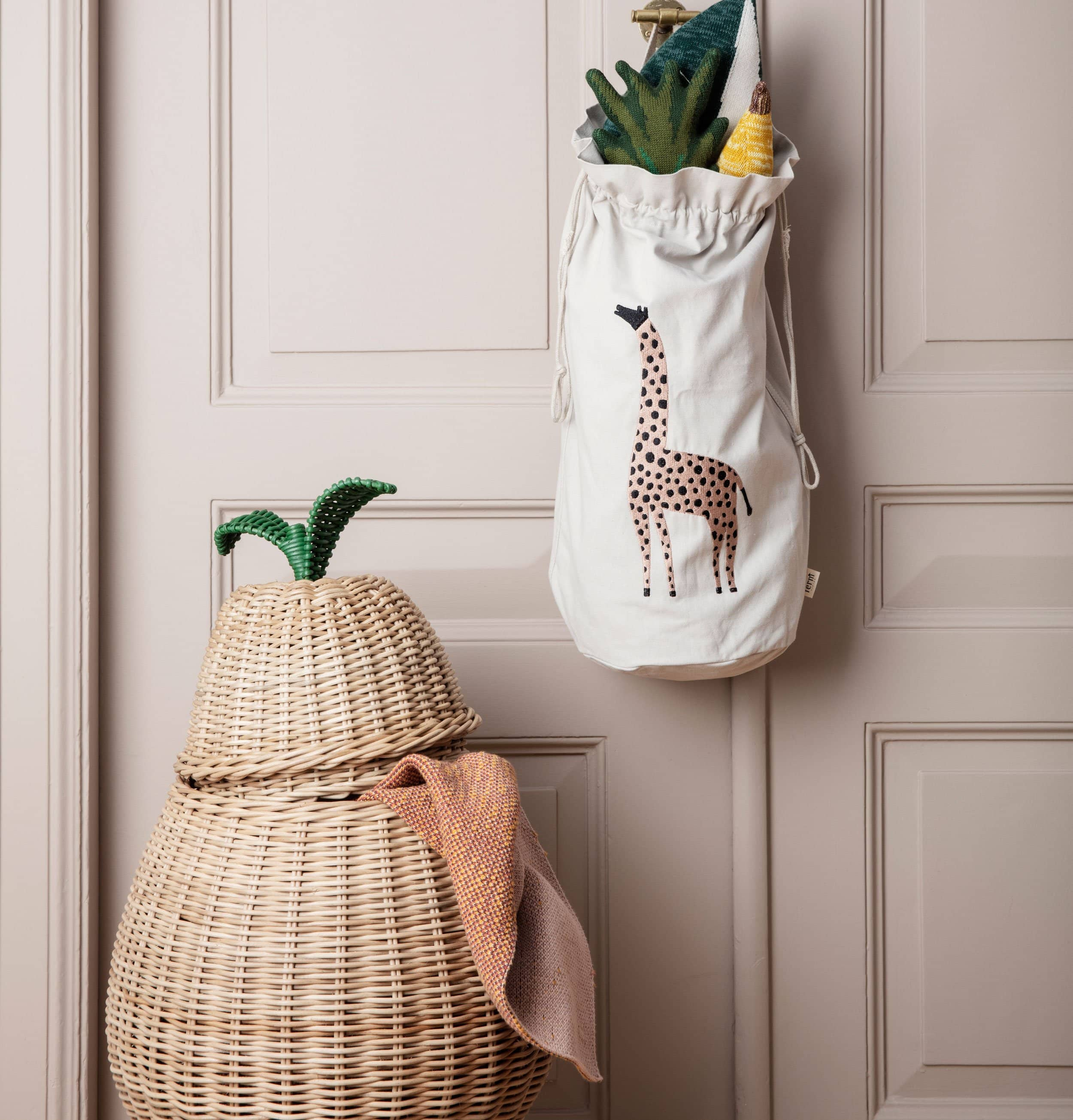 Ferm Living Pear Braided Storage Basket - HUH. Store
