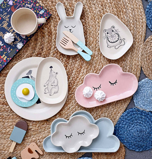 Bloomingville Kid's Cloud Plate
